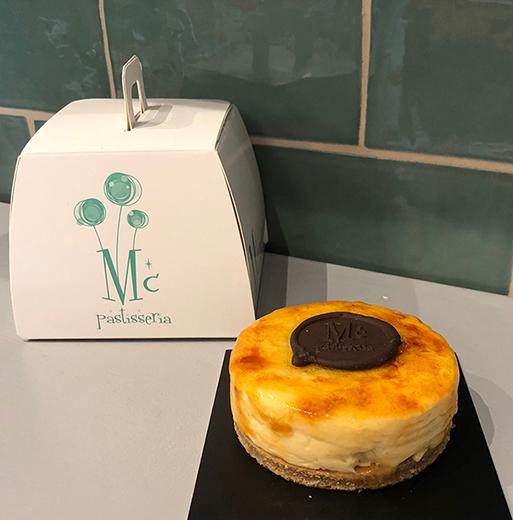 Pastel de Crema Catalana